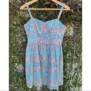 NWOT Kaeli Smith Mini Flared Dress with Straps